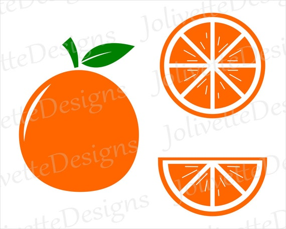 orange fruit slice oranges juice clip art clipart design svg rh etsystudio com